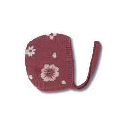 Shirley Bredal Bonnet Flora deep berry-20