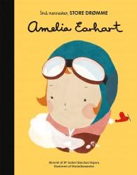 Små mennesker, STORE DRØMME bog Amelia Earhart-20