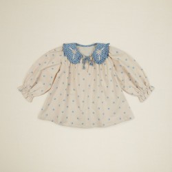Apolina Bluse Dorothy Blouse bluegrass-20