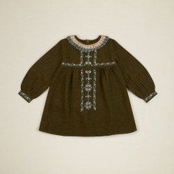 Apolina Kjole Mariette Dress olive-20