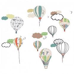 """MIMI´lou """"hot air balloons"""" sticker-20"""