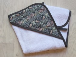 astas Håndklæde med hætte frotté/liberty stof-20