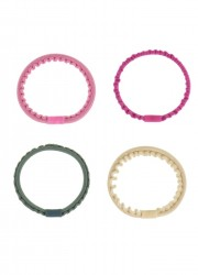 Bon Dep Kknekki thin Hair Ties 4 pieces-20