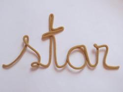 blossom Knitted word Star mustard-20