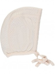 Bebe Organic Bonnet Heart rose-20