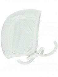Bebe Organic Bonnet Heart white-20