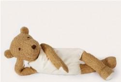 MinMin Copenhagen Teddy Bear brown wellness toy-20