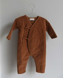 CO LABEL Babysuit EDDIE Tabacco-20