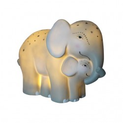Disaster Designs Lampe Mother and Baby Elephant-20