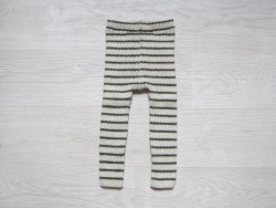 esencia leggings striped Ivory/olive-20