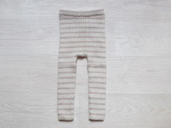 esencia leggings striped Ivory/rose-20