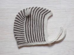 esencia Hat Mucca striped ivory/cocoa På lager igen til november kan forudbestilles her-20