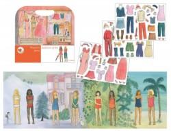 Egmont Toys Magnet Verden Fashion Girl Påklædningsdukker-20