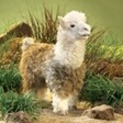 Folkmanis Hånddukke Alpaca-20