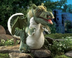 Folkmanis Dragon Baby hånddukke-20