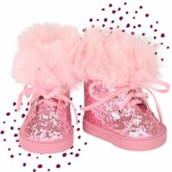 Götz Dukkestøvler Cool Glam pink glitter 42-50 cm-20