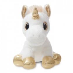GA TOYS Unicorn hvid/guld 18 cm-20