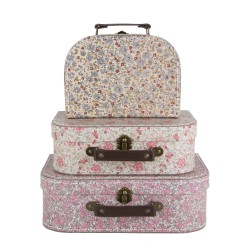 sass and belle Vintage Floral Suitcases 3 stk.-20