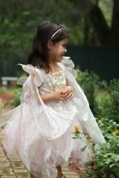 Great Pretenders Udklædning Golden Rose Fairy Dress 4-6 år-20