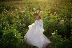 Great Pretenders Udklædning Golden Rose Princess Dress 3-4 år-20