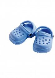 Heless Dukkesko Crocs blå 32-38 cm-20