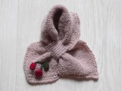 astas Cherry scarf pink-20
