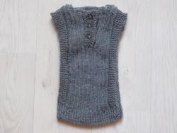 astas vest baby alpaca wool grey-20