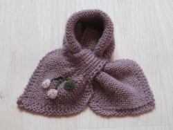 astas Cherry scarf light lavender-20