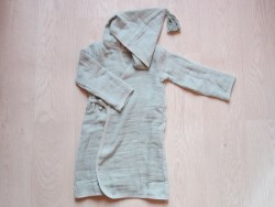 moumout Pépin bathrobe green cloud-20
