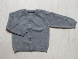 astas cashmere cardigan Grey-20