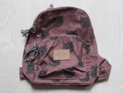 moumout backpack bear/old pink-20