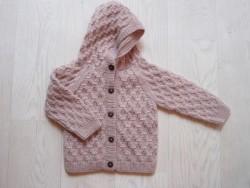 Shirley Bredal Smock hoodie pink-20