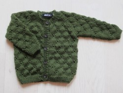 astas Clover cardigan autumn green-20