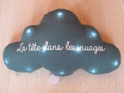 Oh La La Paris Cloud La tête dans les nuages night light/mucical teal green-20