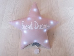 Oh La La Paris Star sweet dreams night light/mucical pink-20