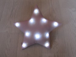 Oh La La Paris Star night light pink-20