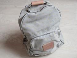 moumout backpack etoile/gris-20