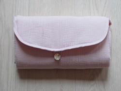 Pois.Plume Portable changing pad rose pale-20