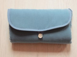 Pois.Plume Portable changing pad bleu petrol-20
