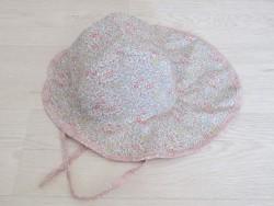 astas Summer hat liberty lyserød blomst/lyserød-20