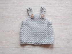 minikane Dukketøj Bloomer perle grå-20