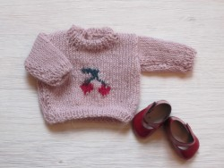 astas Dukke Cherry Sweater pink-20