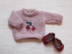 astas Dukke Cherry Sweater pink-20
