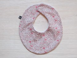 astas Bib liberty rose/grey blomster-20