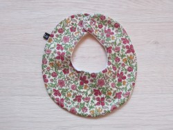 astas Bib liberty rose, mustard and green blomster-20