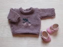 astas Dukke Cherry Sweater lavender-20