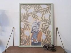 Kajsa Wallin Print Elderflower 30 x 40 cm med ramme-20