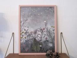 Kajsa Wallin Print Nattljus 30 x 40 cm med ramme-20