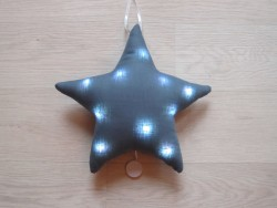 Oh La La Paris Star night light/mucical blue-20