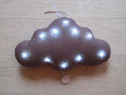 TOI-MÊME PARIS Cloud night light/mucical lavendel-20